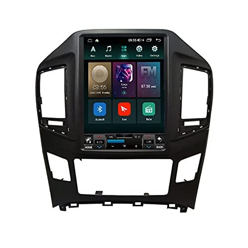ADMLZQQ Android 10.0 Radio Coche Navegación GPS para Hyundai H1 2017-2018, Pantalla Táctil De 9.7 Pulgadas, Bluetooth FM Am GPS DSP Controles del Volante Cámara Trasera Carplay,Ts6 8core6+128