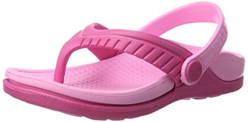 Aqua-Speed - Kinder Badeschuhe / Sandalen Strandschuhe Roma (pink, 25)