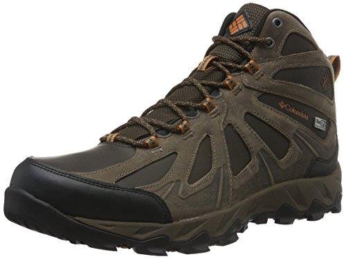 Columbia Peakfreak XCRSN II Mid Leather Outdry Schuhe für Herren, Braun, Kupfer (Cordovan, Bright Copper), 43 EU