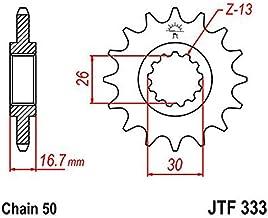 JT Sprockets JT SPROCKET STEEL HONDA JTF333.15
