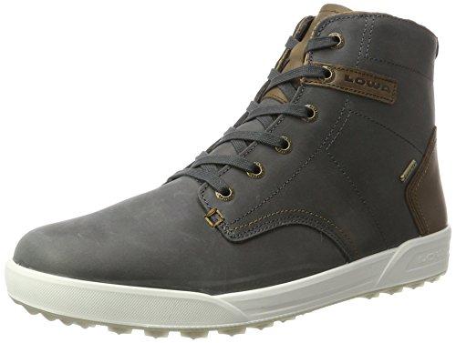 Lowa Herren London Ii GTX Qc Hohe Sneaker, Grau Anthracite Beige, 41.5 EU