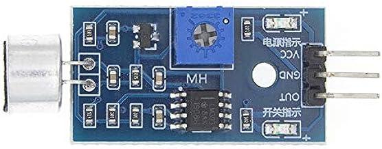 Sensor Module 3pin Voice Sound Detection Sensor Module DIY Intelligent Smart Vehicle Robot Helicopter Airplane Aeroplane B...
