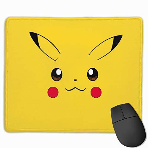 SIRR Gaming-Mauspad mit Pikachu-Kopf, rutschfeste Gummiunterseite, für Computer, Laptop, für Büro/Gaming/Zuhause