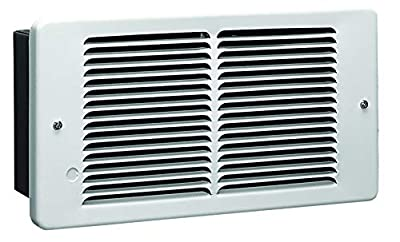 KING PAW1215-W PAW Pic-A-Watt Electric Wall Heater, 1500-Watt 120-Volt, White