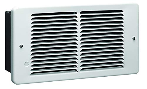 KING PAW1215-W PAW Pic-A-Watt Electric Wall Heater, 1500-Watt 120-Volt, White Heater Room Space