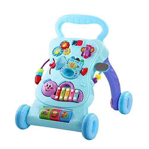 Xyanzi Jouets Stand Walkers Toys, Centre D'activités pour Enfants, Table d'amusement Musical pour Tout-Petits, Lights 'n Sounds, Apprentissage, Cadeau d'anniversaire pour 6, 9, 12, 18 Mois, 1, 2 Ans,