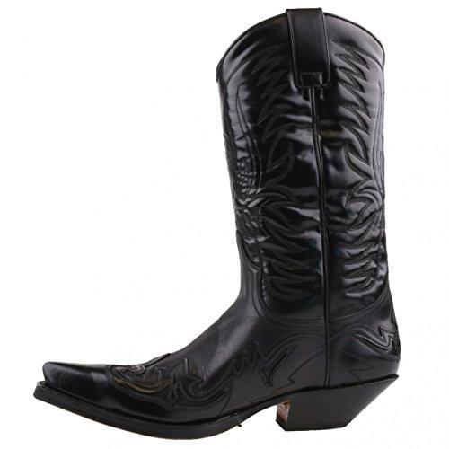 Sendra Boots, Stivali da motociclista donna, Nero (Nero), 41