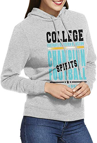 College Football Division Houston Woman Long Sleeve 3D Printed Sports Hooded Sweatshirts Black