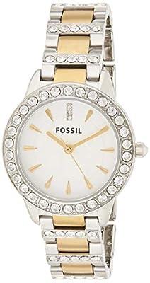 Fossil Mujer Reloj de cristal de 34mm Jesse bicolor de Fossil