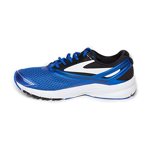 Brooks Men's Launch 4 Electric Blue/Black White Ankle-High Mesh Running - 9.5M