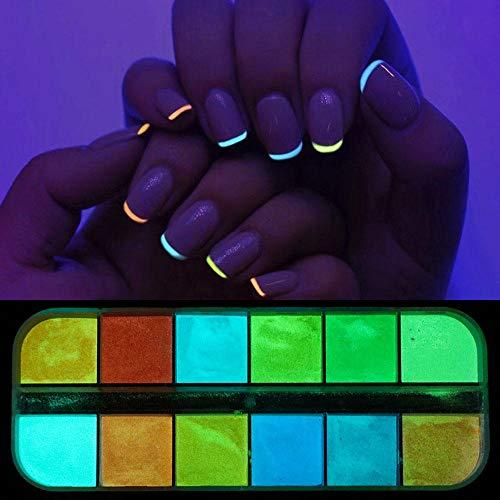 Poudre à ongles,Paillettes scintillantes pour ongles Mix Holographic Sugar Effect Poudre Acrylique Nail Art Glitter Dust Accessories-I