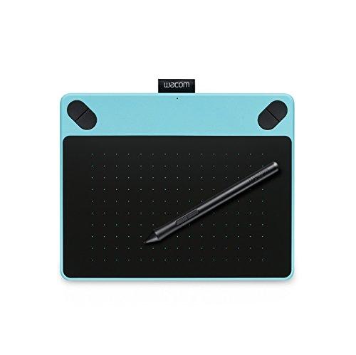 ワコム Intuos Draw旧モデルペン入力専用 お絵描き入門モデル Sサイズ ミントブルー CTL-490 B0