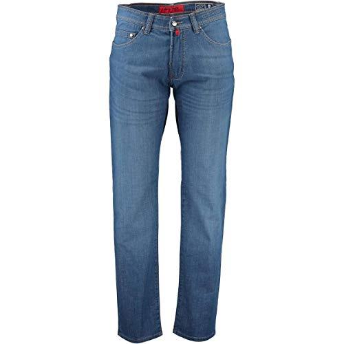 Pierre Cardin Herren Deauville AirTouch Light Denim Tapered Fit Jeans, Blau (Azur Blue 17), W33/L32 (Herstellergröße: 33/32)