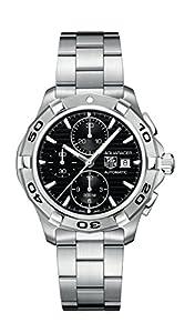 TAG Heuer Men's CAP2110.BA0833 Aquaracer Black Chronograph Dial Watch image