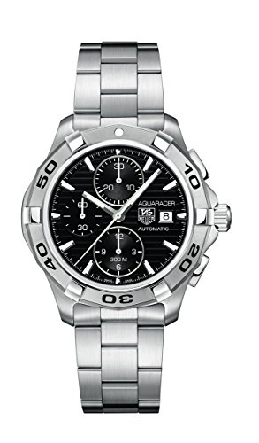TAG Heuer Men's CAP2110.BA0833 Aquaracer Black Chronograph Dial Watch