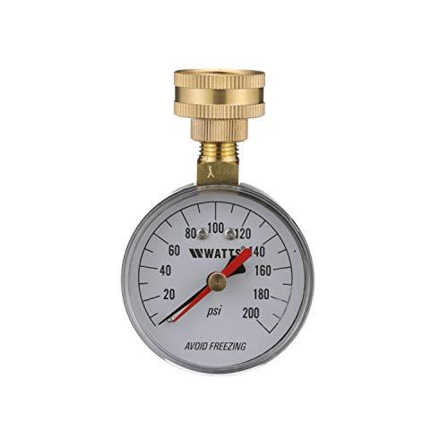 Watts 0950200 Water Pressure Test Gauge, 43894, Black Enamel