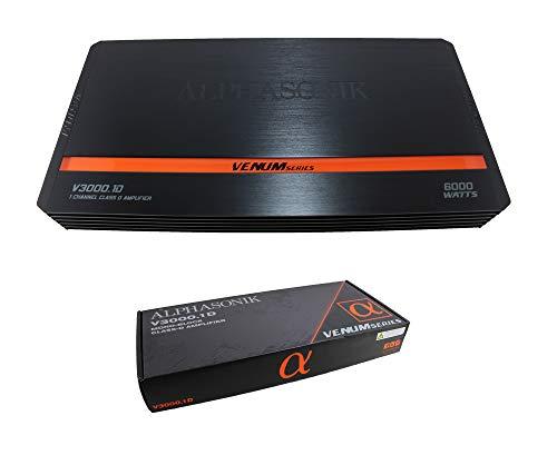 amplificador 4 vias de la marca Alphasonik
