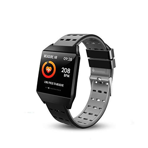 Beaulyn Fitness Tracker Smartwatch, Fitness Armband Touch Screen Smart Watch IP67 Wasserdicht Fitness Uhr mit Pulsuhren Schrittzähler Damen Herren Armbanduhr Sportuhr für iOS Android