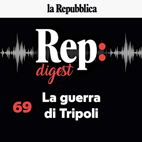 La guerra di Tripoli audiobook cover art
