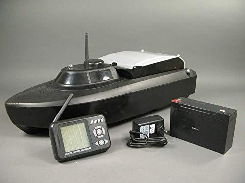 Amewi 26020 Futter-/Köderboot V3 mit Sonar 2,4 GHz/L 61cm / RTR, schwarz