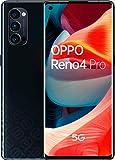 Oppo Reno 4 Pro 5G – Pantalla de 6.5' (180 Hz de pantalla, 12/256Gb, Snapdragon 765G 5G, 4000mAh con carga 65W, Android 10) Negro [Versión ES/PT]