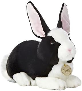 Aurora World Miyoni Dutch Rabbit Black White 10 Plush