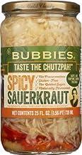 Bubbies Sauerkraut Spicy 25 Oz (Pack of 1)