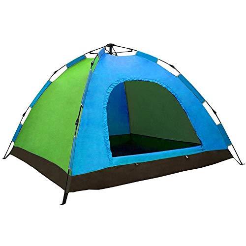 Generic Brands 3-4 Personnes Fournitures de Plein air Tente de Voyage Une Personne entièrement Automatique Ouverture Rapide Camping Ombre Facile à Ranger Forte Tente fraîche extérieure