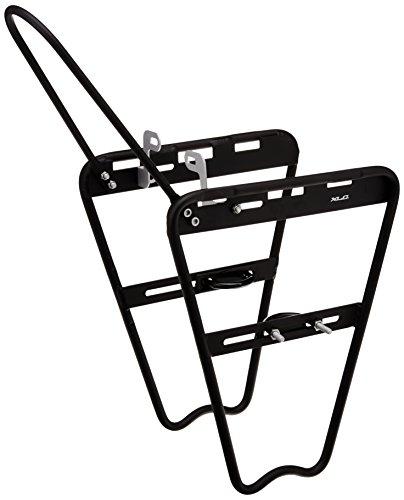 XLC Lowrider bagażnik na widelec amortyzowany, czarny, 31 x 20 x 15 cm