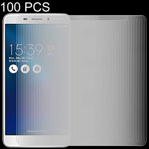 Zhangsihong película de Cristal Templado 100 PCS 0.26mm 9H 2.5D película Protectora...