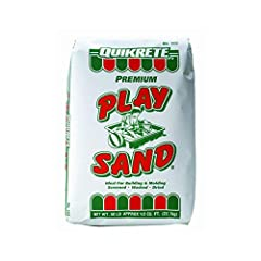 One bag 50 pounds of sand Great for making concrete or for filling the kids sandbox