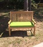 <span class='highlight'>Garden</span> <span class='highlight'>Furniture</span> <span class='highlight'>Centre</span> 150cm Bench Cushion | Lime Green