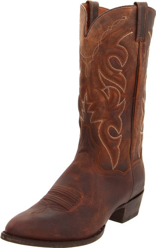 Dan Post Boots Mens Renegade Pointed Toe Western Cowboy Boots Mid Calf - Brown - Size 9.5 D