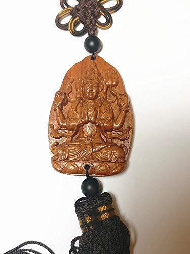 Collection Décoration en bois à découper Chine (Kwan Yin buddha-4) Statue