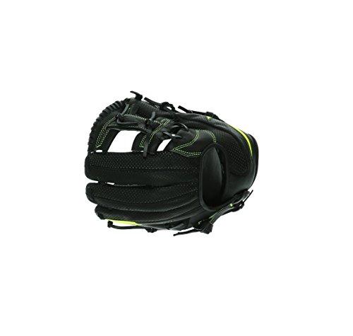NIKE MVP Youth Edge Baseball Glove 11.50' BF1722-010 Black/Volt Leather