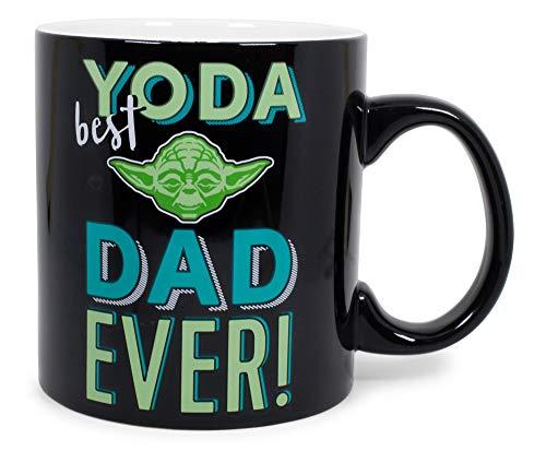 "Exclusive Star Wars""Yoda Best Dad Ever"" Ceramic Coffee Mug | Father"