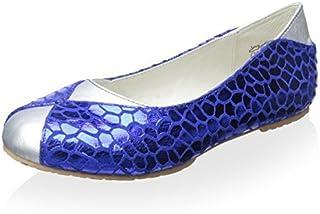 umi Kid's Lidia Flat Electric Blue 23 M EU/7 M US Toddler [並行輸入品]