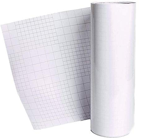 10 A4 Clear Sheet Application Transfer Tape Self Adhesive Vinyl Users on backing