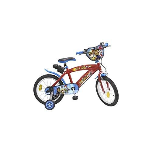 TOIMS Paw Patrol Bicicleta de Niño, tamaño 12 Pulgadas
