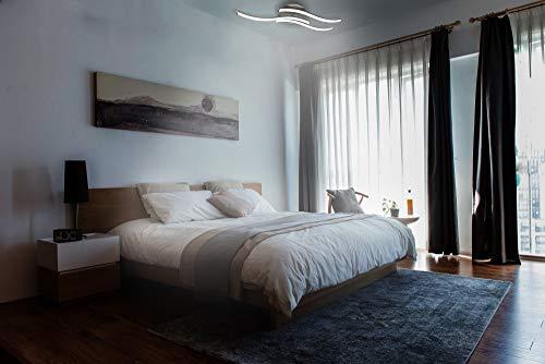 Trango 3-flammig LED Deckenleuchte, Badleuchte, Wandleuchte TG3155 incl. 3x 5 Watt LED Modul Leuchtmittel 3000K warmweiß direkt 230V Deckenstrahler, Strahler, Flurleuchte