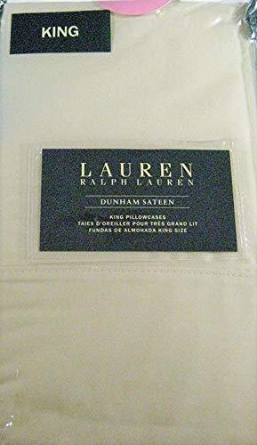 Ralph Lauren Dunham Kissenbezüge, Fadenzahl 300, Hellbeige / Taupe