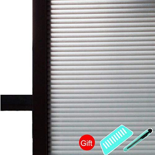 Sparrow Privacy Raamfolie, voor badkamer, toilet, bedrijf, transparant, ondoorzichtig, vensterfolie, glas, decoratieve vensterluiken, zelfklevende glassticker, gratis schraper en gebruiksmes