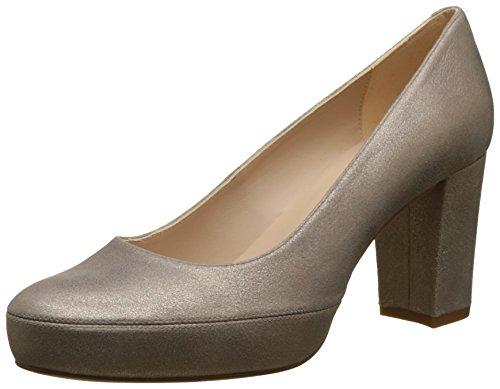 Unisa Numar_18_MTS, Zapatos de Tacón para Mujer, Dorado (Mu