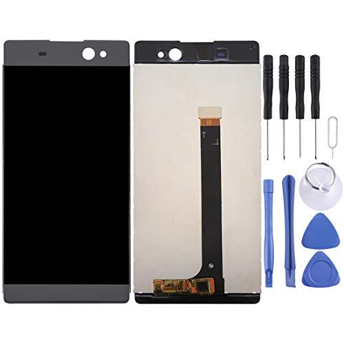 WANTONG Repuestos repuestos Pantalla y ensamblaje Completo del digitalizador for Sony Xperia XA Ultra / C6 (Graphite Black) Piezas de Repuesto (Color : Color1)
