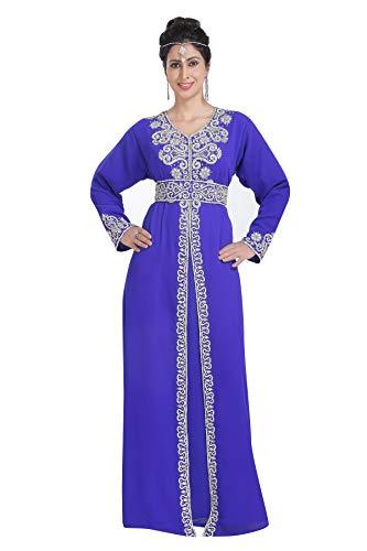 Maxim Creation 702 vestido de fiesta de boda vestido de cóctel Azul azul real XXL