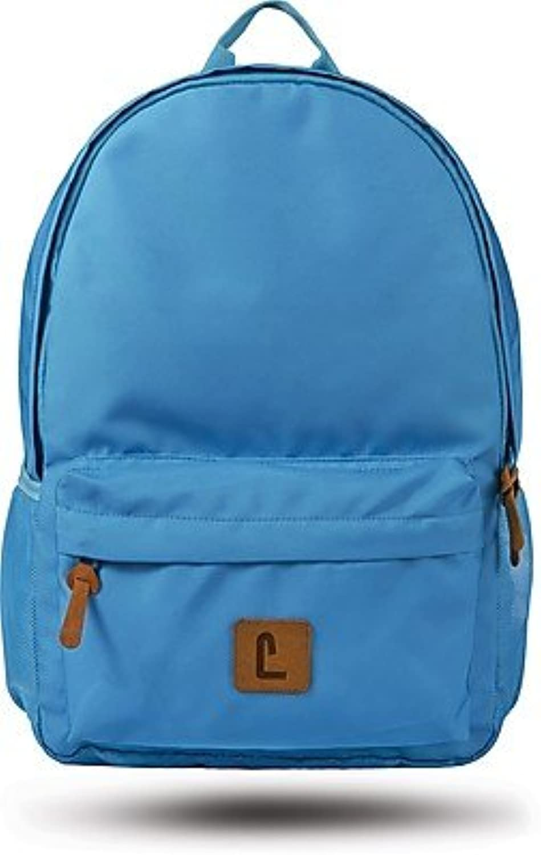 Staples Sixteen 60 18  Backpack, Teal, 5.51 W x 17.71 H x 11.81 D (52404) blueee