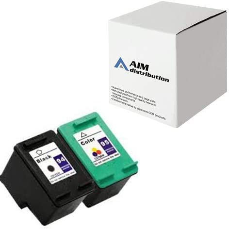 AIM Compatible Replacement for HP NO. 94/95 Inkjet Combo Pack (Black/Color) (C9354FN) - Generic