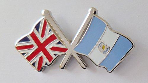 1000 drapeaux du Guatemala et drapeau du Royaume-Uni