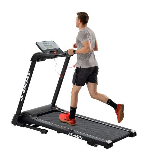 Save %23 Now! GHJ Folding Treadmill with 4.25 LCD Display,2.25HP Treadmill,Electric Exercise Fitnes...