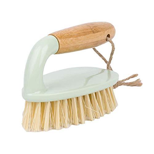 Ynnixa Holzreinigungsbürste Schuhbürste Reinigungsbürste Bodenbürste Topfbürste Kunststofffliesenbürste einfacher Halt 10,5 x 7,5 cm